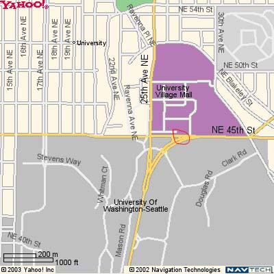 Under 45th Street At University village on usc campus map, usc site map, sungei wang plaza map, westfield mall tukwila map,